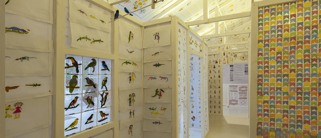 Projeto e exposição | A Casa Bordada (2017)